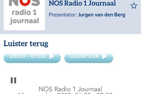 Maartenskliniek met Pharmi op Radio 1