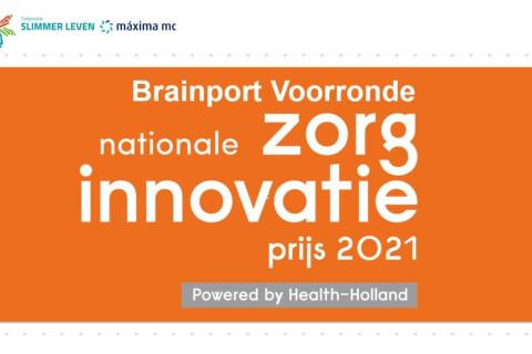 We zijn door naar de finale van de Nationale Zorg Innovatieprijs 2021!