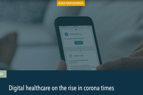 Digital healthcare on the rise in corona times