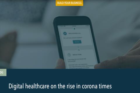 Digitale zorg in de lift in tijden van corona