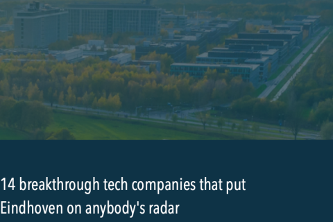 14 Breaktrough tech companies located at High Tech Campus